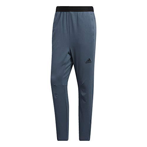 adidas City Studio - Pantalones de Forro Polar para Hombre, Hombre, Pantalones, IPE64, Azul, 3XL
