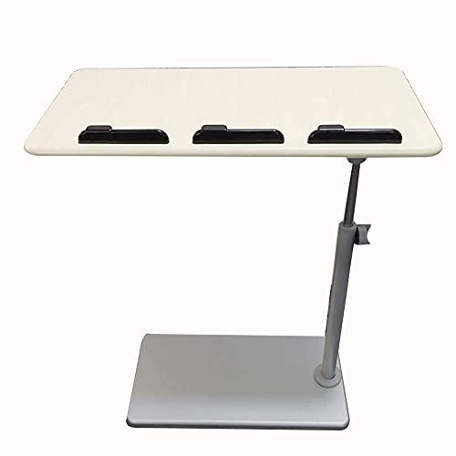 Mesa Mesa Plegable Simple Mesa de Noche extraíble Mesa para portátil Cama con elevación Perezosa Mesa de Libro de Lectura Mesa de Centro pequeña Mesa Plegable (Color: Arce Blanco)