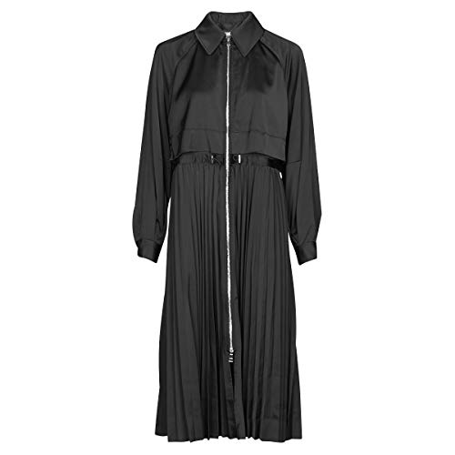 Karl Lagerfeld Technical Pleated Trench Mäntel Damen Schwarz - EU S - Trenchcoats Outerwear