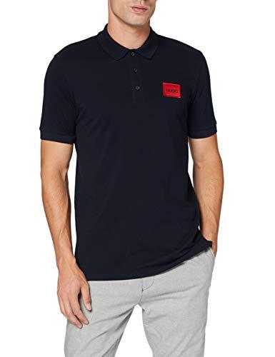 HUGO Mens Dereso Polo Shirt, Dark Blue (405), L