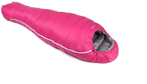 RAB Neutrino 400 Sleeping Bag - Women's Petal Left Zip
