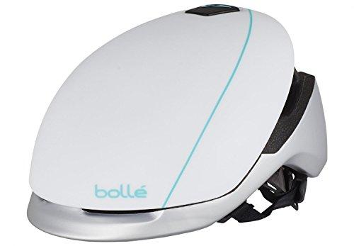 bollé Bollé - Casco de Bicicleta Messenger estándar, Messenger Standard, Messenger Standard White & Silver