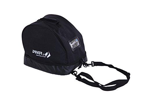 Driver13 ® Bolsa para Casco IR en Bicicleta Casco de esquí con Gafas Negro