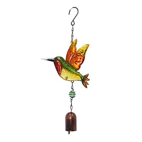 R-WEICHONG Windspiele Glocken Libelle Schmetterling Kolibri Hängende Ornamente Garten Home Decor