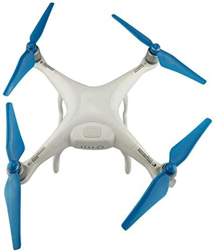 Parti di ricambio per eliche per drone 4 pezzi 9450S Eliche a lama CC/CW Eliche con base di montaggio compatibile con Phantom 4/ compatibile con Phantom 4 pro/4 pro plus ( Color : Blue )