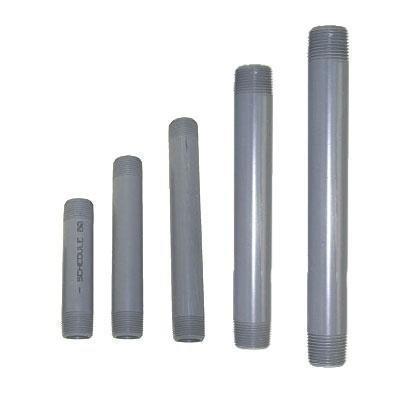 Tubo vertical PVC 1,27 cm, longitud: 60 cm para conexión a