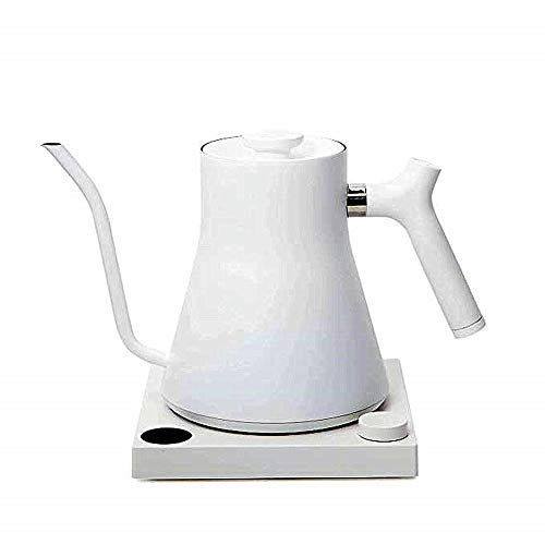 [Fellow][Fellow Stagg EKG, Electric Pour-over Kettle For Coffee And Tea, Matte White, Variable Temperature Control, 1200 Watt Quick Heating, Built-in Brew Stopwatch](Parallel Imported Goods)