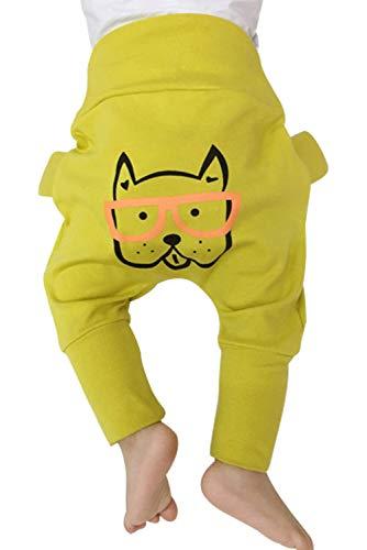 Mostshine Pantalon Bébé Unisex Fille Garcon Longue Leggings PP Bloomers Primtemps Autumn Vetement pour 0-24 Mois