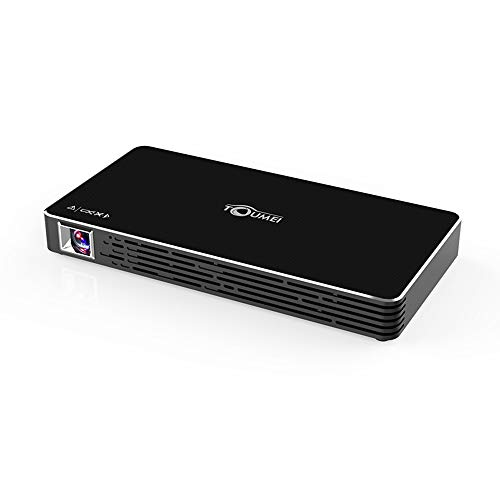 NCBH Mini-projector, intelligente projector, Android, draagbaar, WiFi, HD DLP kinderen, leernakku, geïntegreerde projectie voor thuis, kantoor en reizen in de buitenlucht