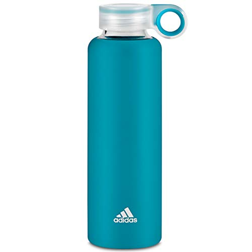 adidas Unisex's Active Teal Glass Water Bottl