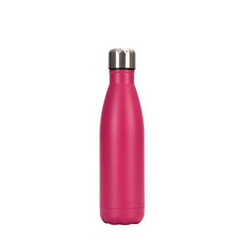 Chilly's Bottles, botella de agua de acero inoxidable de doble capa a prueba de fugas, botella de coca de coca reutilizable, botella deportiva de enfriamiento, para mujeres y hombres, 07.500 ml