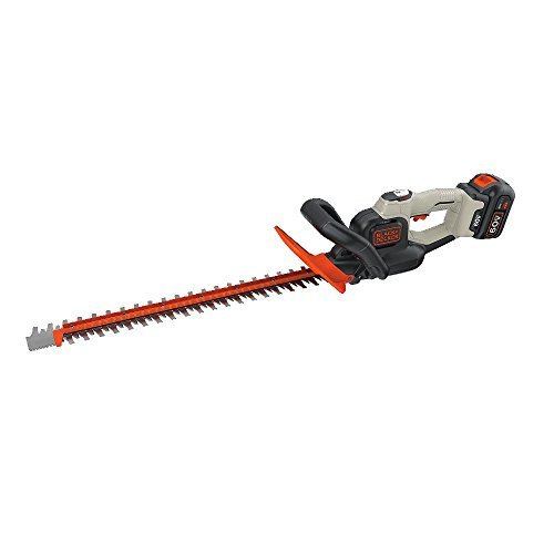 Read About BLACK+DECKER 60V MAX Cordless Hedge Trimmer, 24-Inch (LHT360CFF)