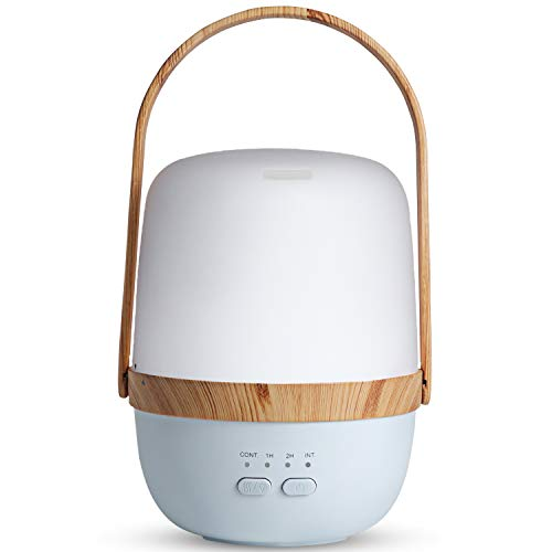ARVIDSSON Wireless Rechargeable Diffusers for Essential Oils, Portable Essential Oil Diffuser, 130ml Ultrasonic Aromatherapy Oil Diffuser with Whisper-Quiet Operation