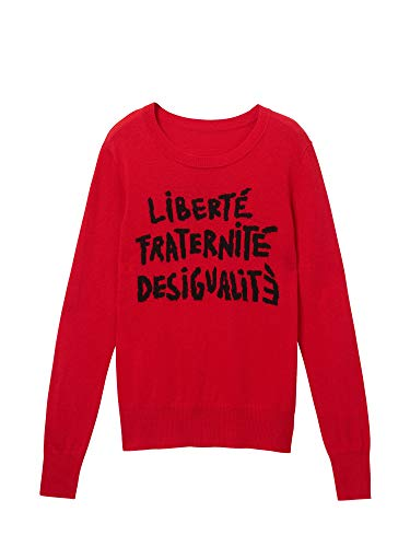 Desigual Dames Jersey Words Rood