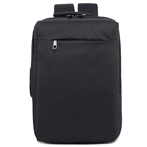 SHRAY Backpacks/Sleeves Fashion Large Capacity Casual Breathable Notebook Tablet Backpack, Product Size: 42cmx28cmx12cm (Color : Black) Black