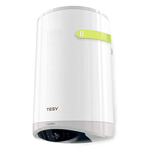 TESY ModEco Cloud - Termo Eléctrico de Gama Alta de 80L con Wifi, Resistencia Cerámica y función EcoSmart.