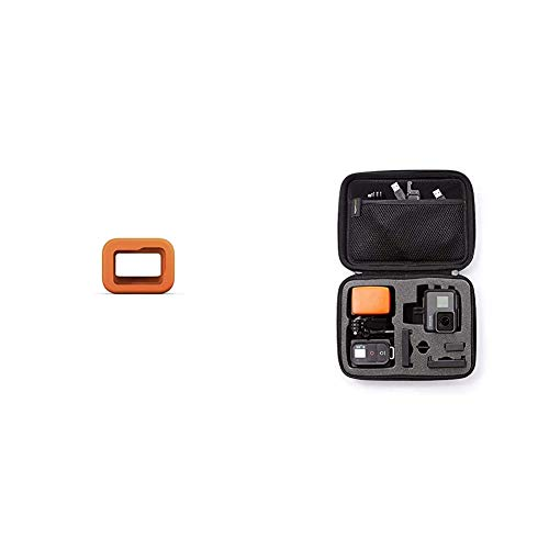 GoPro Floaty for Hero8 Black Official Accessory Amazon Basics GoPro Carrying Case Small
