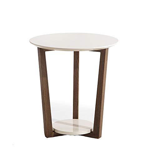 XiuHUa kleine salontafel eenvoudige hoekbank bijzettafel moderne woonkamer slaapkamer hoek kleine ronde tafel telefoontafel meubel, 50x55x25cm bijzettafel