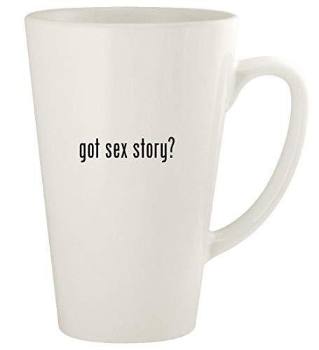 got sex story? - 17oz Ceramic Latte Coffee Mug Cup, White