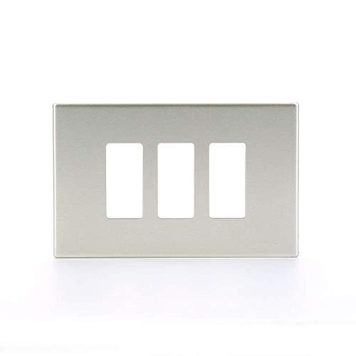 VIMAR Placca In Alluminio A 3 Moduli Della Serie A Incasso...