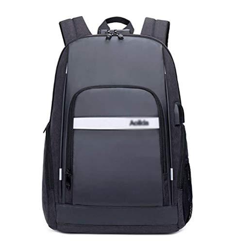 Mochila Mochilas Mochila para Mem Mens Travel Business School Laptop Laptop Bolsa De Senderismo Deportes Ocasionales Al Aire Libre Portable Antirrobo Daypacks