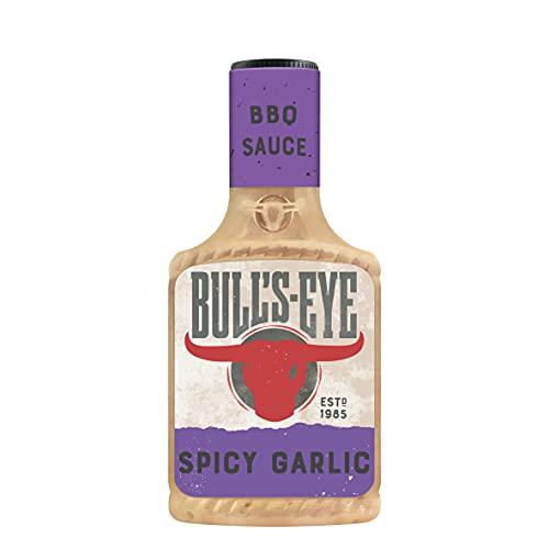 Bull's Eye Spicy Garlic BBQ Sauce,...