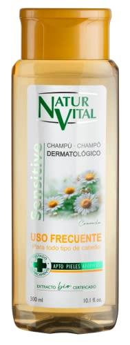 NaturVital Champú Sensitive Uso Frecuente Camomila 300ml