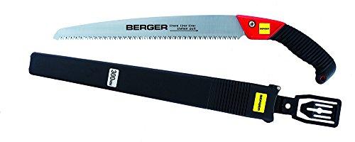 Berger Astsäge 64750 mit auswechselbarem Hochleistungs-Sägeblatt Astsäge mit Schutzköcher, Länge: 30 cm