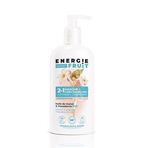Energie Fruit Masque + après-shampooing monoï et huile de macadamia - Le flacon de 300...