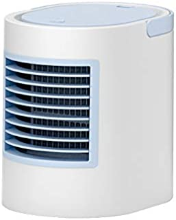Ventilador de aire acondicionado portátil Leobtain, refrigerador de aire de escritorio, mini humidificador de aire silencioso, ventilador para el hogar y la oficina