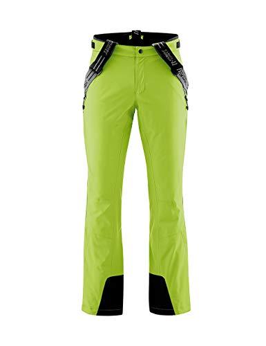 Maier Sports Unisex-Adult Copper Slim Skihose, lime green, 50