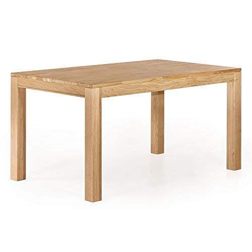 Marchio Amazon -Alkove Hayes - Tavolo da pranzo fisso classico, 130 x 90 x 77 cm, quercia silvestre