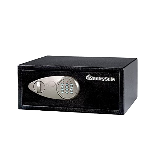 SentrySafe - Caja de Seguridad, 0.7 Cubic Feet (Medium-Wide), Negro