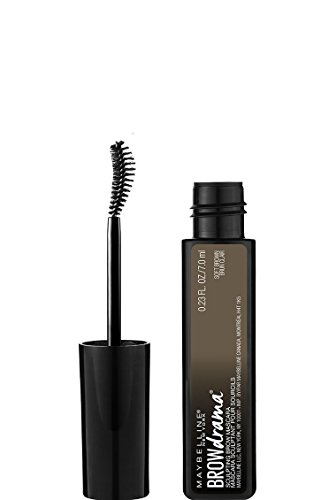 MAYBELLINE - Eye Studio Brow Drama Sculpting Brow Mascara 255 Soft Brown - 0.23 fl oz. (7 ml)