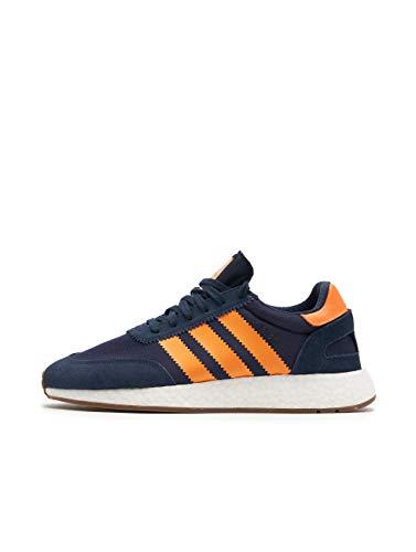 adidas Herren I-5923 Fitnessschuhe, Schwarz (Core Black/Footwear White/Gum 0), 44 2/3 EU
