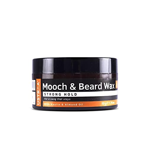 Ustraa Beard & Mooch Wax - Strong Hold - 50g
