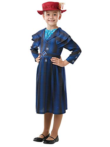 Rubie' s 640649S ufficiale Disney Mary Poppins Returns Movie costume, Childs Book week character-girls dimensione piccola età 3 - 4 anni, Multicolore