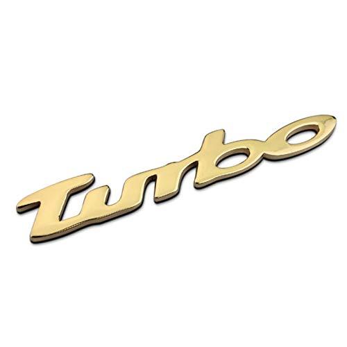 None/Brand Turbo Auto Posteriore Anteriore Adesivo Decalcomania Emblema Stemmi Emblemi Distintivo per C-Hevrolet Malibu Cruz - Chrome,d'oro