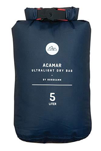 NORDKAMM Dry-Bag, Trockensack, 5l, Ultra-Light, blau, wasserfest