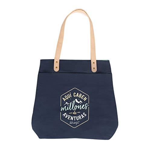 Mr. Wonderful Tote Bag, Aquí Caben Millones de Aventuras