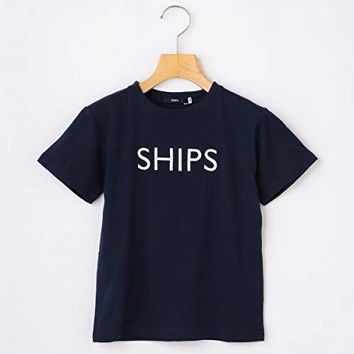 シップス キッズ(SHIPS KIDS) SHIPS KIDS:<ファミリーおそろい>SHIPS ロゴ TEE(100~160cm)【ネイビー/100】