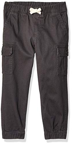Amazon Essentials Jungen Cargohose, Dark Grey, 3 Jahre