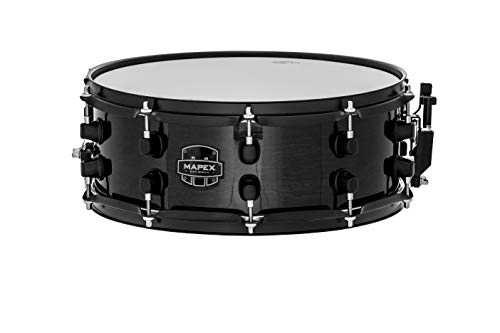 Mapex MPBC4550BMB MPX Series 14' x 5.5' Birch Snare Drum - Transparent Black Finish