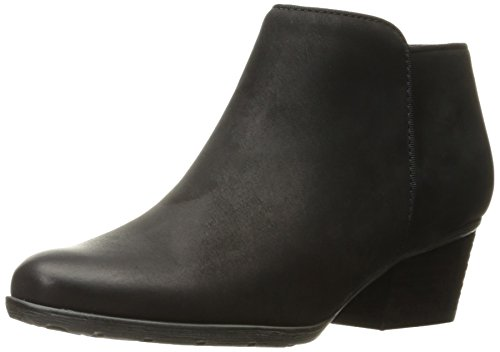 Blondo Women's Villa Waterproof Ankle Boot, Black Suede, 6 W US