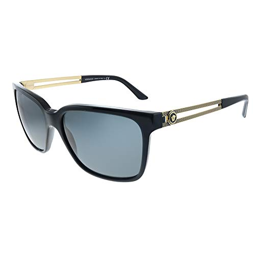 Versace 0Ve4307 Gafas de Sol, Black, 58 para Hombre