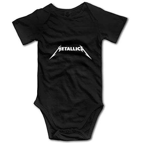 Bravado Metallica - Mono unisex para bebé con mangas cortas - negro - 0-3 meses