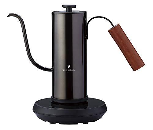 アピックス 温調電気カフェケトル AKE-290 ブラック 1℃単位で温度調整&保温が可能 電気ケトル 正規品 景品付き