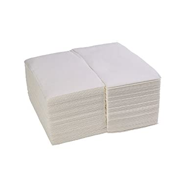Simulinen White Premium Cloth-Like Guest Towels (Pack of 100)
