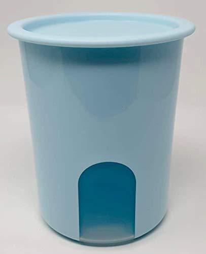 TUPPERWARE Bingo 1,25 Liter türkis Trockenvorrat Vorrat Dose Box Behälter Kaffeebehälter Kaffee Eidgenosse Mehl Zucker 1250ml