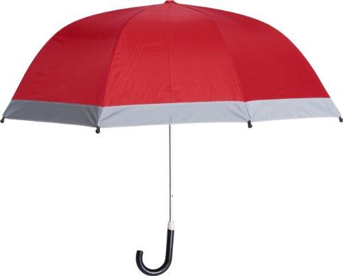 Playshoes Kinder-Unisex Reflektoren für mehr Sicherheit im Straßenverkehr, Circa 70 cm Regenschirm, Rot (rot 8), Einheitsgröße